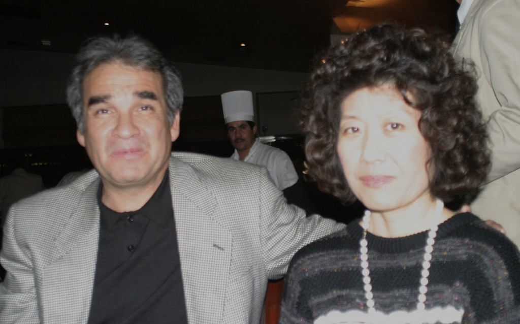 California political consultant Bill Orozco and longtime companion Nancy Anne Nuno (with permission of Nancy Anne Nuno)