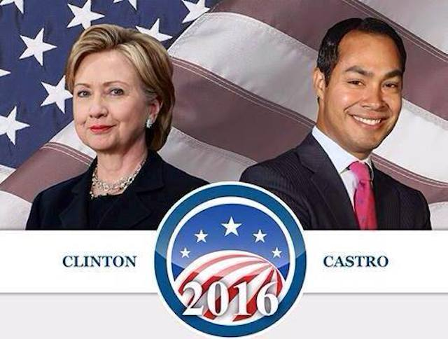 Will Hillary Clinton offset a potential Latino voter protest by picking Obama Cabinet member Julian Castro as her running mate?