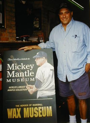 Tom Catal, owner and curator of the Mickey Mantle Museum in Cooperstown, NY.